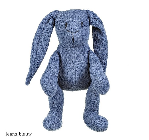Baby's only konijn stoer jeans blauw