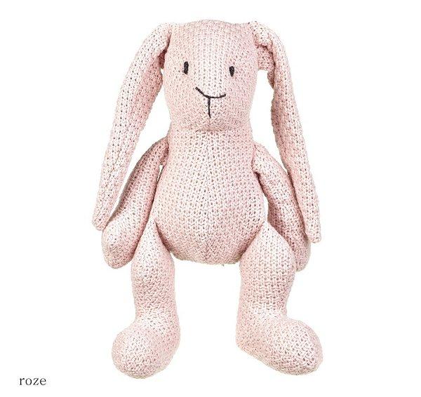 Baby's only konijn stoer roze
