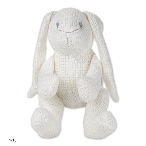 Baby's only konijn stoer wit