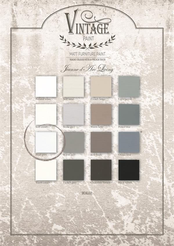 """Krijtverf Jeanne d'Arc Living """"Pearl grey"""""""