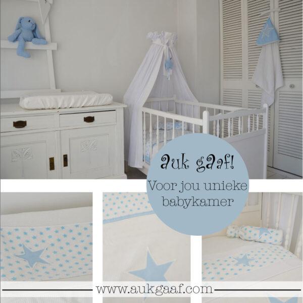 """Babykamer aankleding met sterren """"Casper"""""""