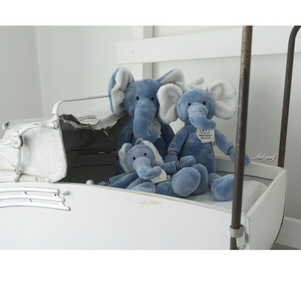 "Knuffel olifant Happy horse ""blauw"""