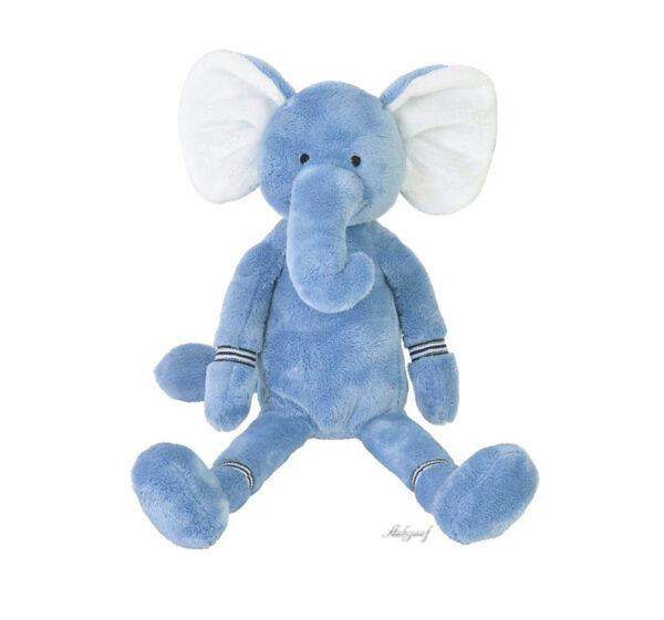 """Knuffel olifant Happy horse """"blauw"""" knuffel"""