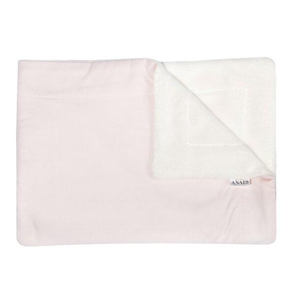 "Les Rêves d'Anaïs Blanket ""Pink Flow"" 75x100"