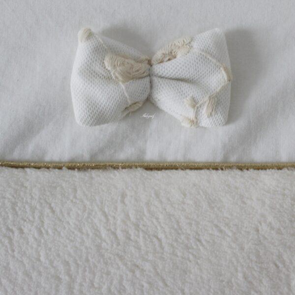 aankleedkussenhoes detail
