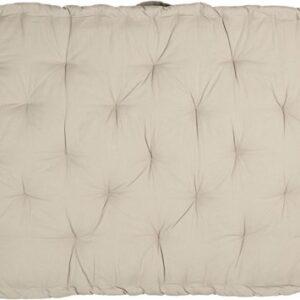Clayre & Eef Palletkussen met foam 80*120*8 cm beige | KT039.001BE