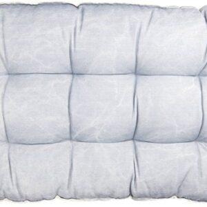 Clayre & Eef Palletkussen met foam 80*120*12 cm blauw | KT039.007BL |