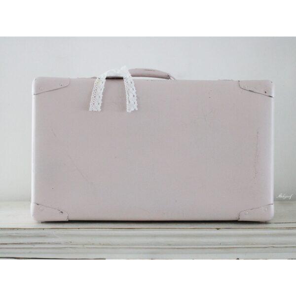 "Brocante koffer ""Lieve"" roze!."