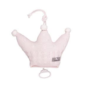 Baby's only muziekhanger kroon classic roze