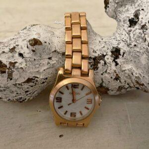 Oozoo horloge rose-goud SALE-50%